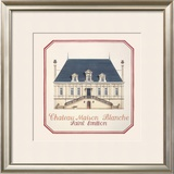 Chateau Maison Blanche Limited Edition Framed Print by Andras Kaldor