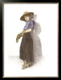 Vera Framed Giclee Print by Sharon Hunt