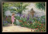 Little Gardener Print by June Dudley