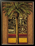African Evening II Prints by Andre Mazo
