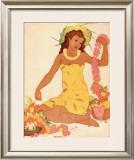 Leimaker, Hawaii Framed Giclee Print by John Kelly
