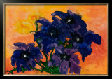 Blue Arrangement Prints by Claude Boher