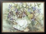 Flower Aquarel I Prints by Elizabeth Veltman-Adriaansz