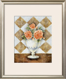 Vase of Roses Prints by A. Da Costa