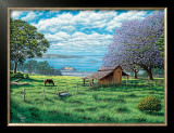 Ulupalakua Upcountry Framed Giclee Print by Hans Olson