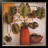 Olive Bowl and Vase Posters by Margaret Hughlock