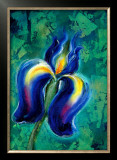 Iris II Framed Giclee Print by Marcella Rose
