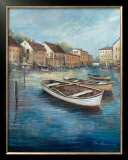 Tranquil Harbor I Prints by Ruane Manning