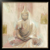 Buddha II Print by Elvira Amrhein