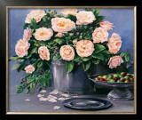 Flowers and Apples II Prints by Karin Valk