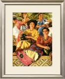 Tropical Senorita Framed Giclee Print
