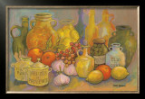 Mediterranean Kitchen II Art by Karel Burrows