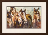 Sorted for Hanna Framed Giclee Print by Lacoste Gena