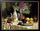 Still Life with Coffee Jug Print by P. Moran