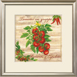 Tomates en Grappe Poster by Noel Romero