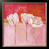 Fleurs en Rose II Poster by Isabelle Herbert
