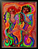 Gypsy Dance Poster by B. Ingrid