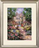 Country Manor Poster by Francie Botke