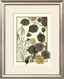 Arts and Crafts Hazelnut Print by M.P. Verneuil