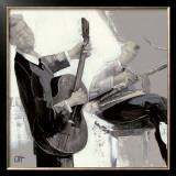 La Guitare Posters by Bernard Ott