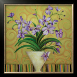 Purple Spring Poster by Shelly Bartek