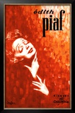 Edith Piaf Framed Giclee Print by John Douglas