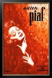 Edith Piaf Framed Giclee Print by John Douglas
