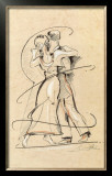 Tango I Prints by Alfred Gockel