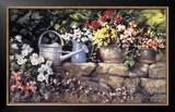 Garden Wall Prints by Paul Landry