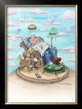 Dad's Domain Framed Giclee Print by Gary Patterson