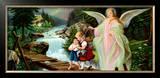 Heiliger Schutzengel Prints by  Lindberg