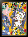 Vintage Aloha Shirts Framed Giclee Print by Cynthia Conrad