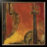 Brass and Strings V Art by Karen Dupré