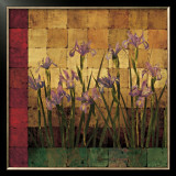 Iris Garden Posters by Marcia Wells