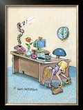 Live for Weekends Framed Giclee Print by Gary Patterson