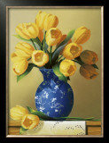 Yellow Tulips Prints by Ian Porter