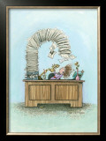 Avalanche Framed Giclee Print by Gary Patterson