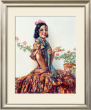B. Sirven Framed Giclee Print by Gaspar Camps