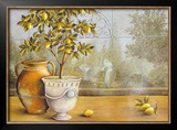 Lemon House near Amalfi Prints by M. Patrizia