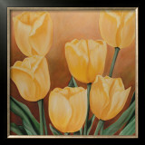 Orange Tulips Print by Erik De André