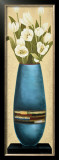 Harmony in Turquoise II Print by Jinny Lee