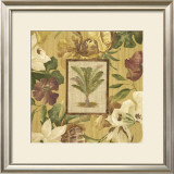 Fabric Palm I Prints by Albert Arthur Allen