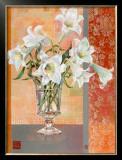 White Lilies Art by Maya Nishiyama