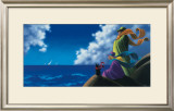 Seashore Prints by Claude Theberge