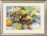 Schale mit Obst Prints by Jeanne Coolen-Luyten
