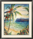 Tropical Breeze I Prints by Alexa Kelemen