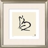 Abstract Female Nude II Limited Edition Framed Print by Ty Wilson