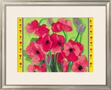 Intensiv Mohn Prints by I. Matthaus