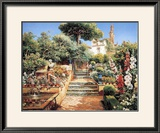 Flower Garden Posters by Manuel Garcia Y Rodriguez