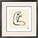 Abstract Female Nude I Limited Edition Framed Print by Ty Wilson